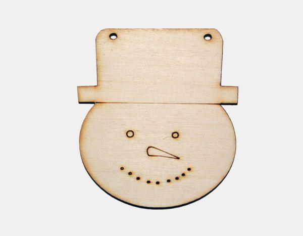 ozdoba ze dřeva, kreativní materiál