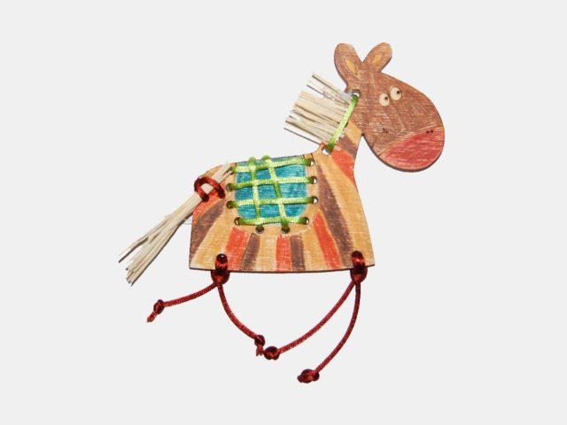Ozdoba ze dřeva - koník